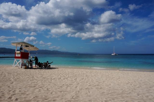 ジャマイカのビーチ