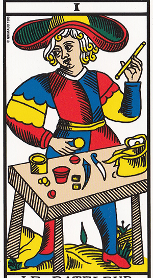 マルセイユ版魔術師
